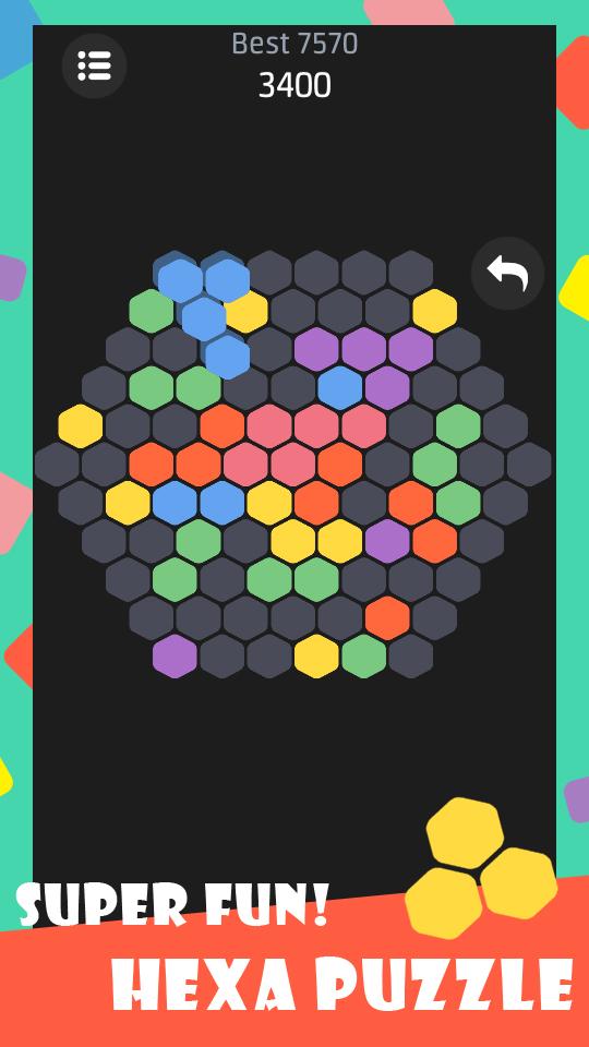 Hexa Puzzle - 6 park