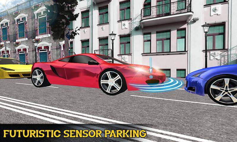 Multi Storey Modern Car Parking