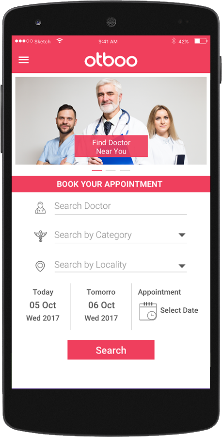 Otboo-Doctor Appointment Booking & Live Queue