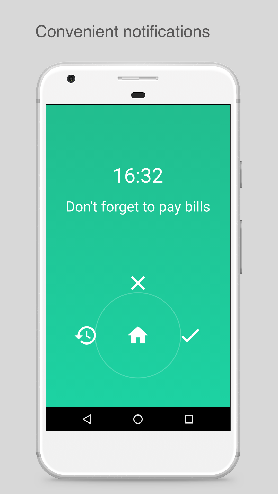 Payments and Bills reminder