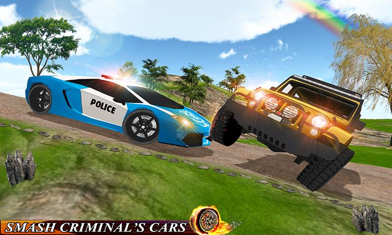 Police Car Chase Driver Simulator