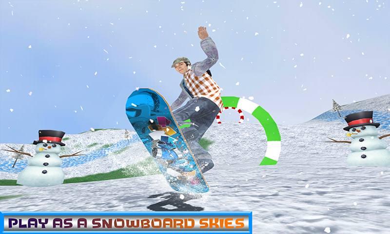 Snowboard Freestyle Stunt Simulator