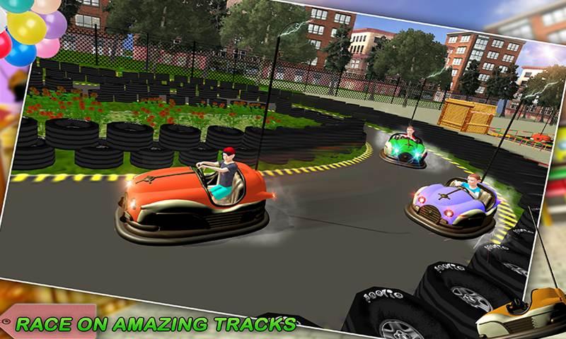Super Kids Bumper Dodging Cars Crash Game