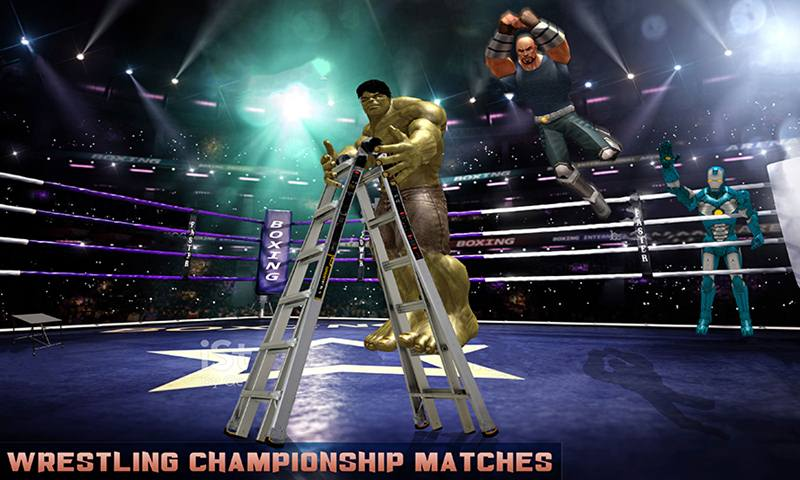 Tag Team Superhero Ladder Wrestling Tournament