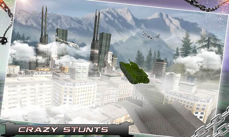 Tank Blitz: City War Rampage