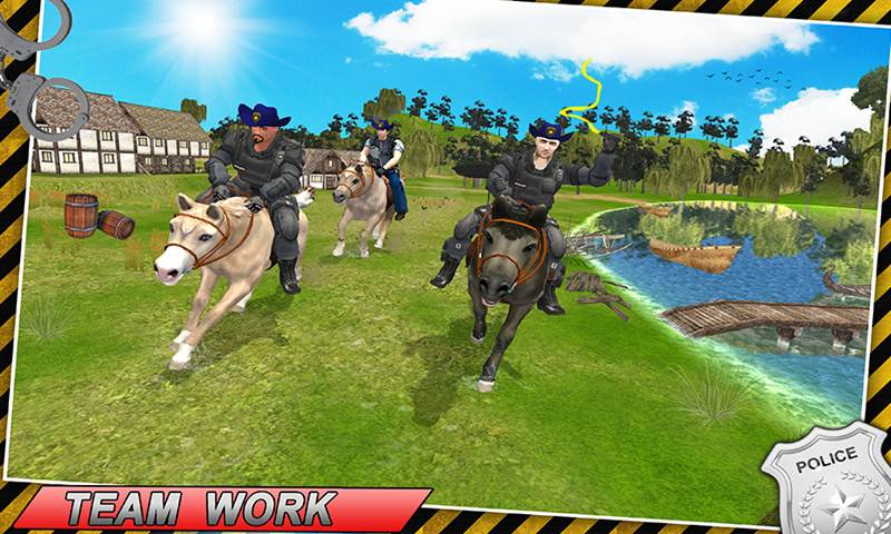 Ultimate Cliff Horse Police Simulator