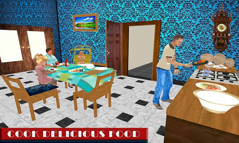 Virtual Step Father Family Simulator