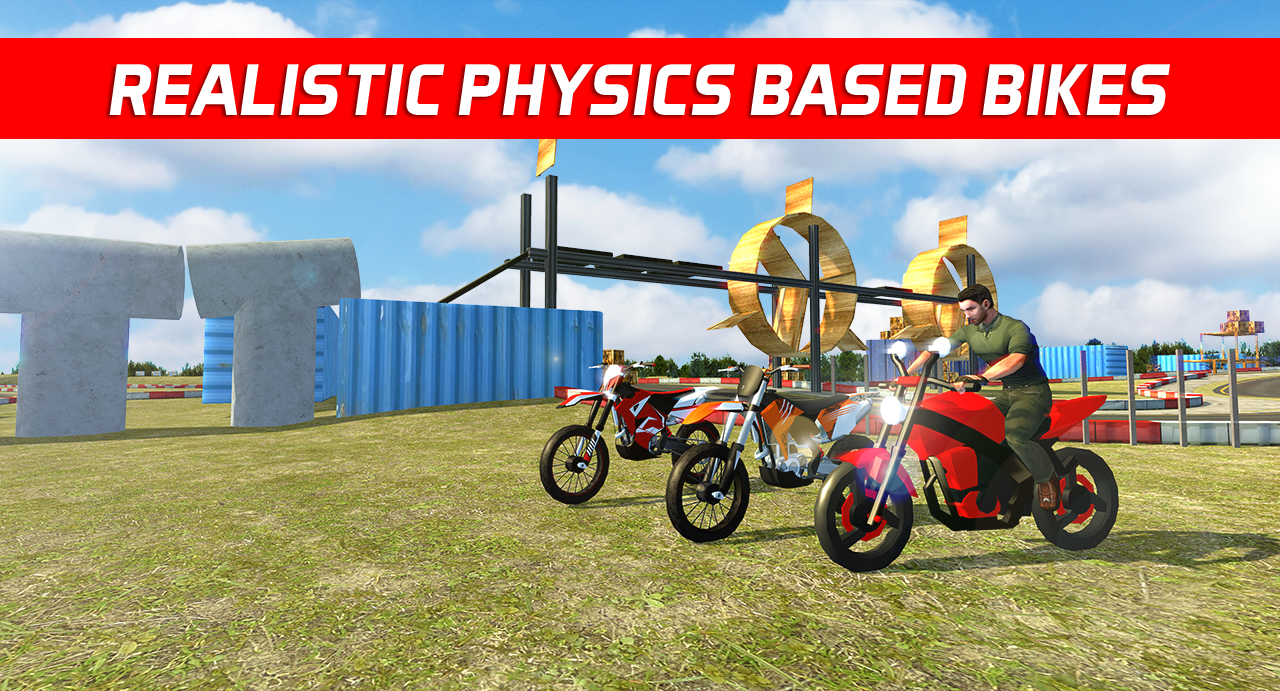 Bike Stunts Impossible Tracks
