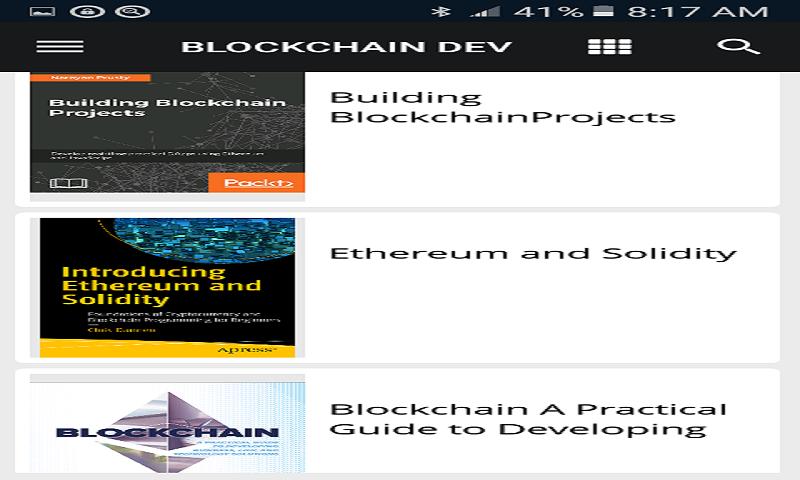 Blockchain Dev