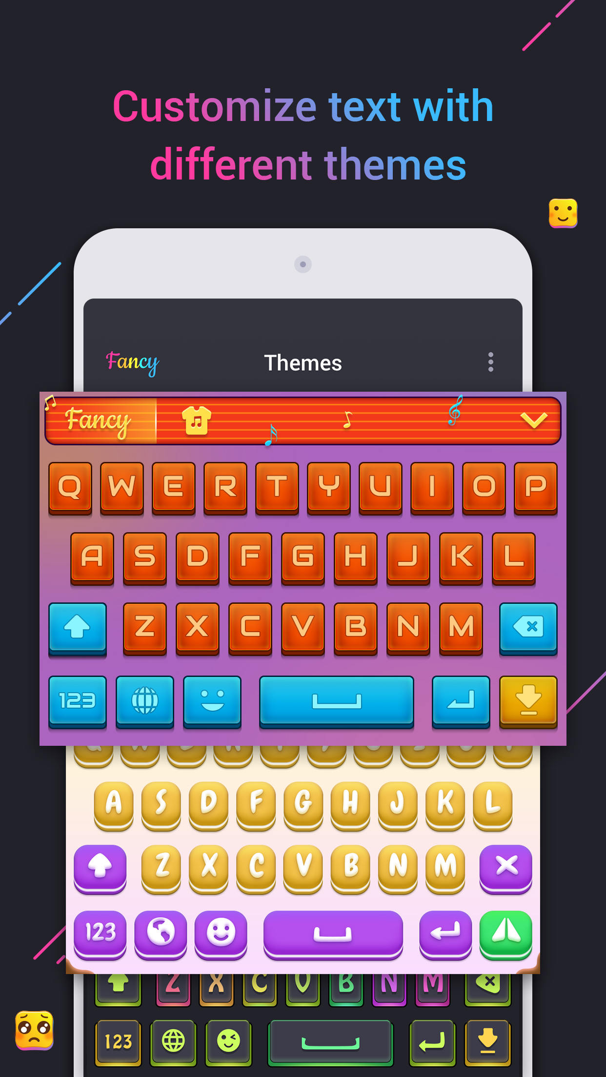 Fancy Text Keyboard