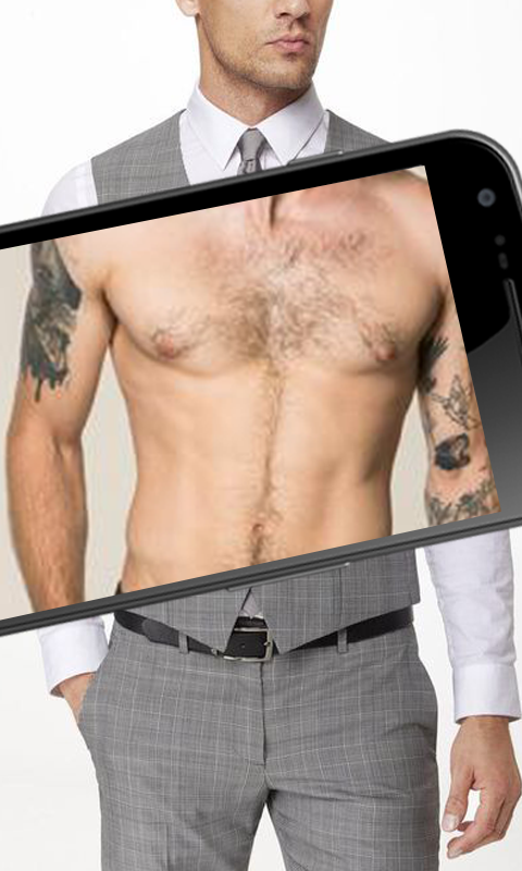 body scanner prank App