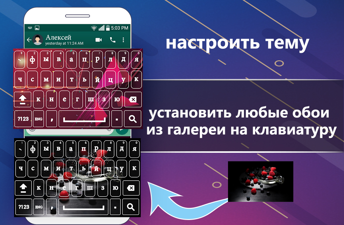New Russian Keyboard 2018: Russian Keypad App