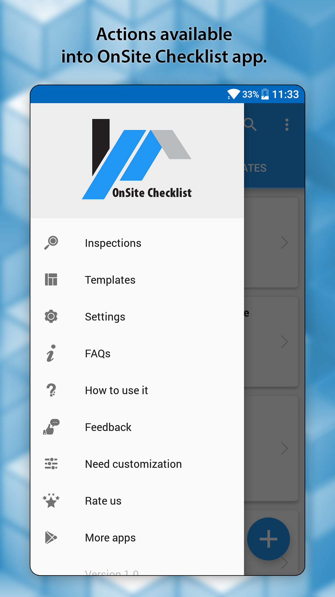OnSite Checklist - Quality & Safety Inspector