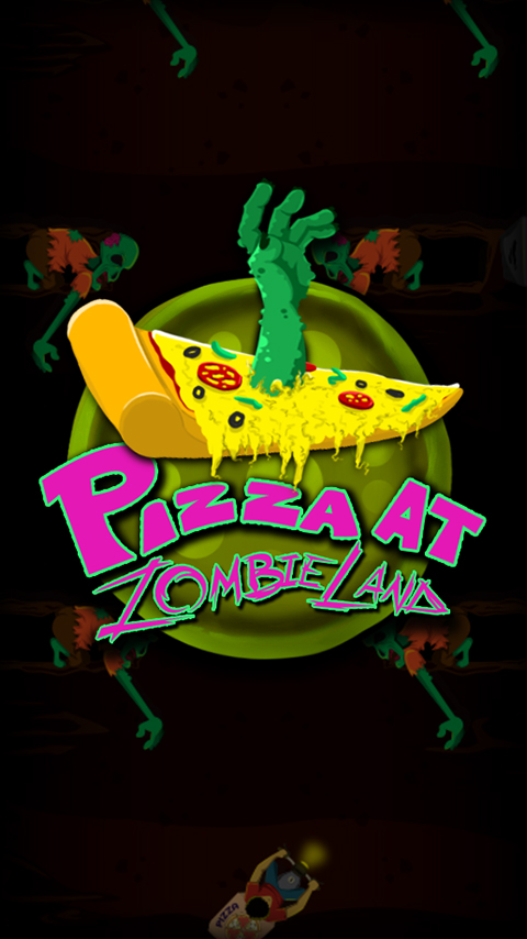 Pizza at Zombie land