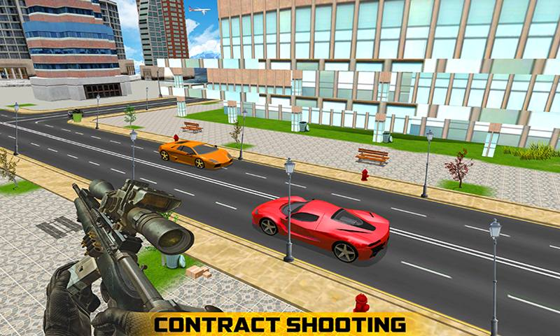 Sniper Gun Assassin Shooting Game