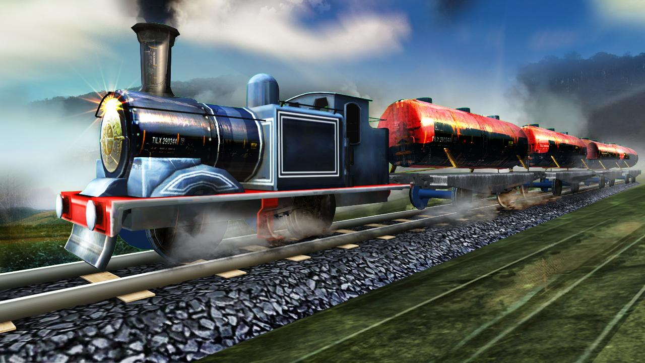 Train Oil Transporter 3D
