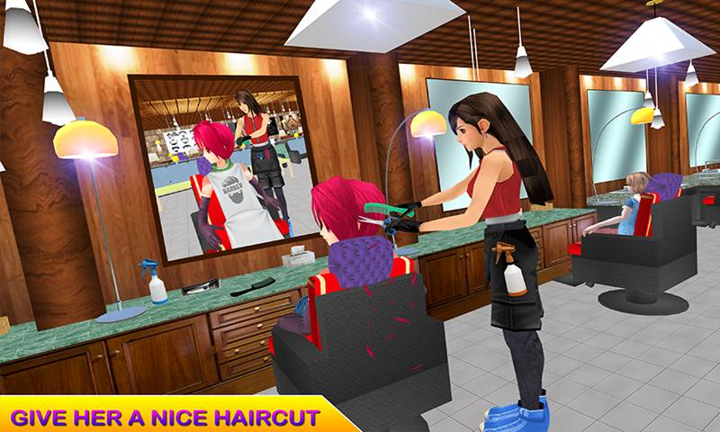 Virtual Barber Shop Simulator