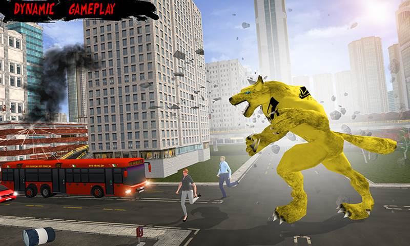 Angry Werewolf City Rampage 2018