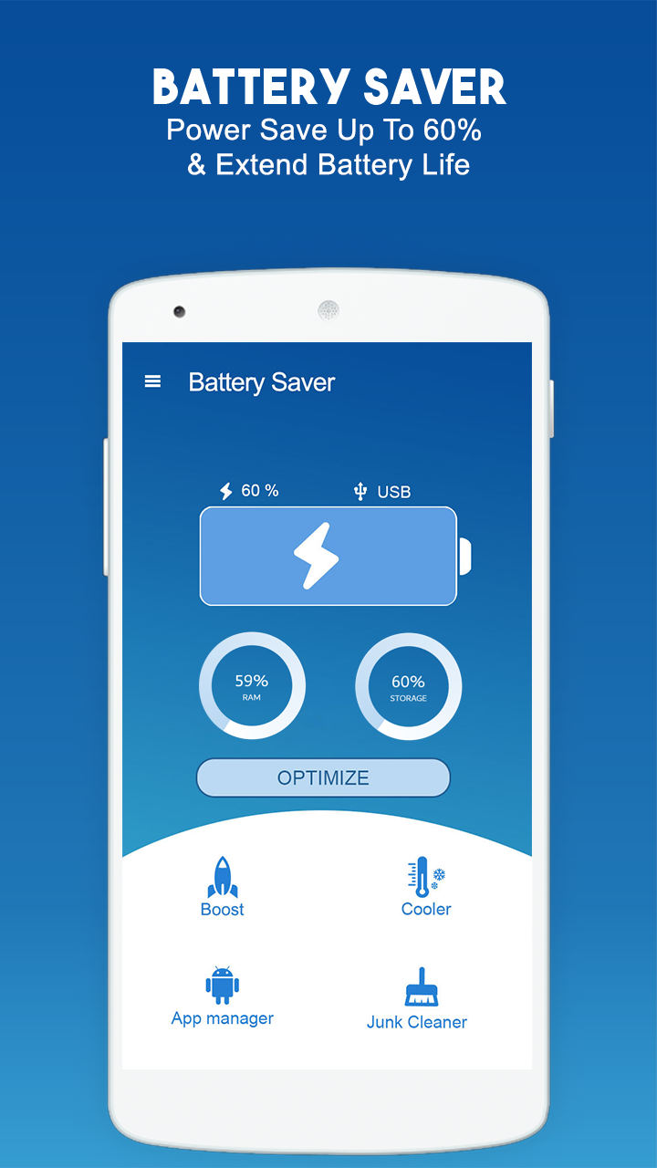 Battery Saver & Optimizer - Phone Cleaner