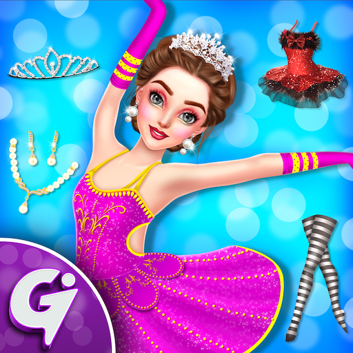 Beautiful Ballerina Girl Salon Stylish Dressup