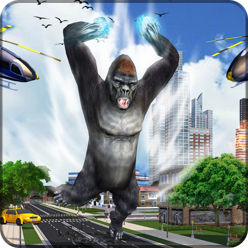 Big Foot Gorilla Giant City Smasher Rampage Game