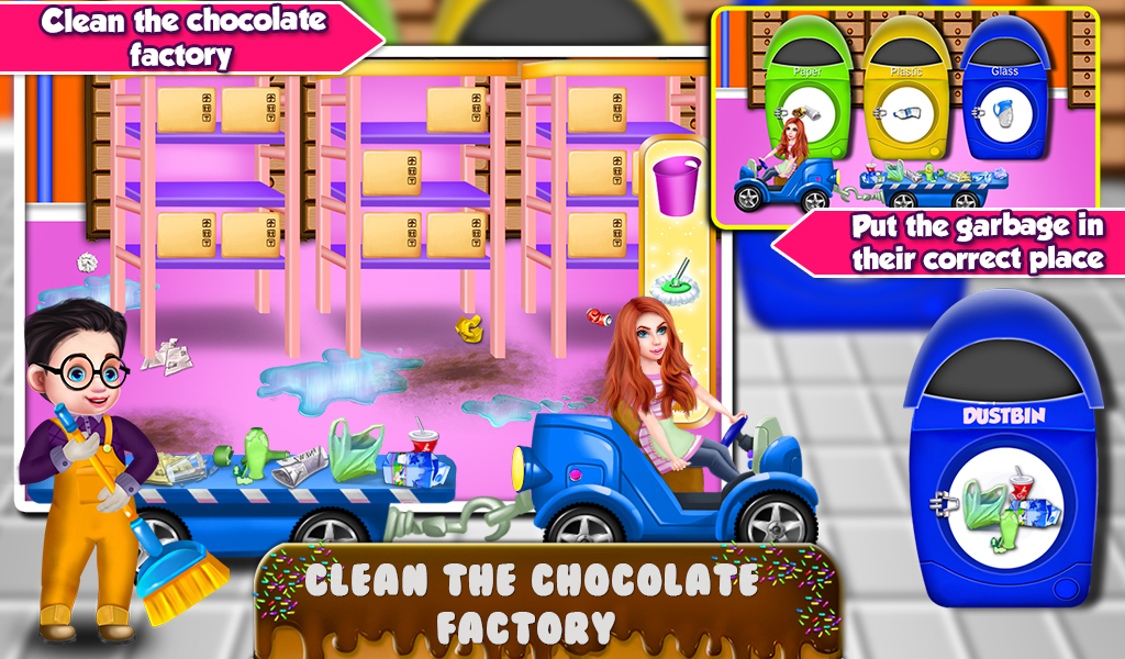 Chocolate Maker Factory - Cooking Game