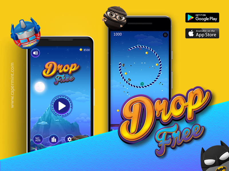 Drop Free - Tap Jump Avoid