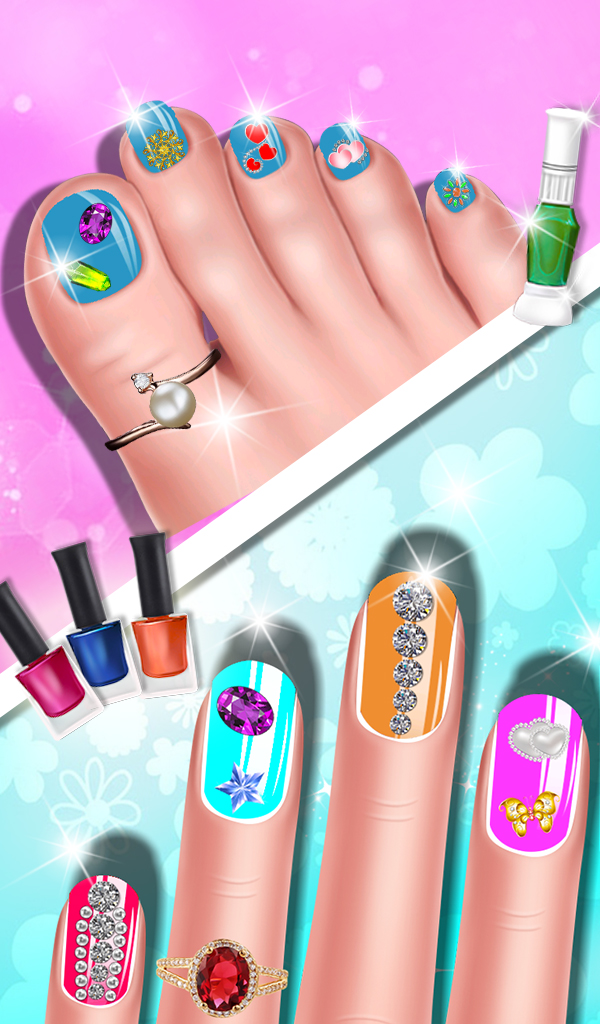 Fashion Doll Nail Art Salon