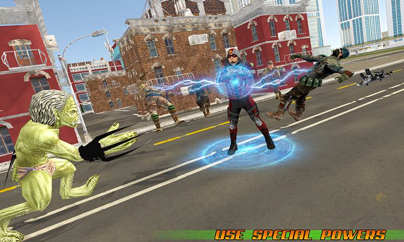 Flying Crossbow Hero City Rescue Missions