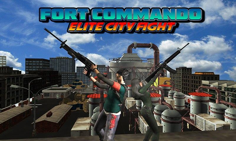 Fort Commando: Elite City Fight