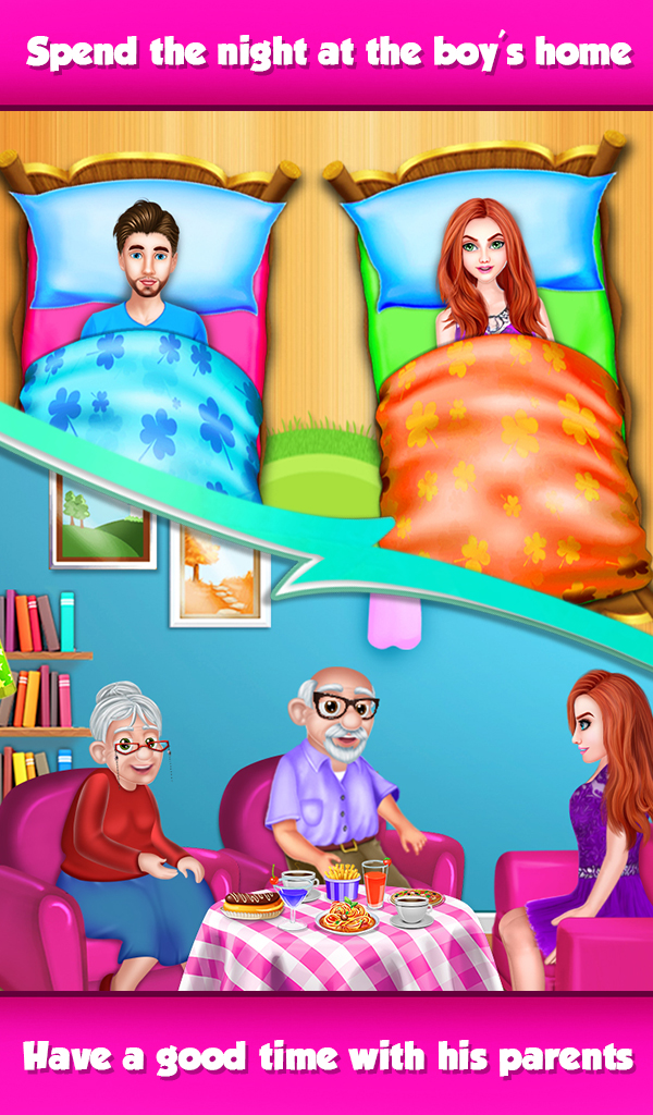 Girl's Nightout at Boy Friend's Home - Rich girl
