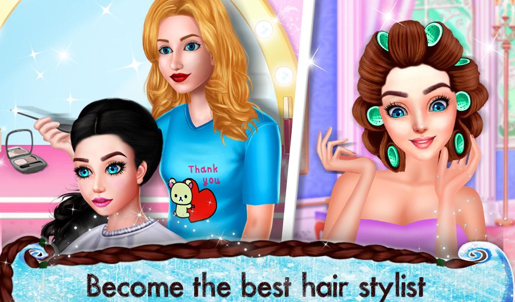 Gorgeous Wedding Bride Hair Do Design Spa Salon