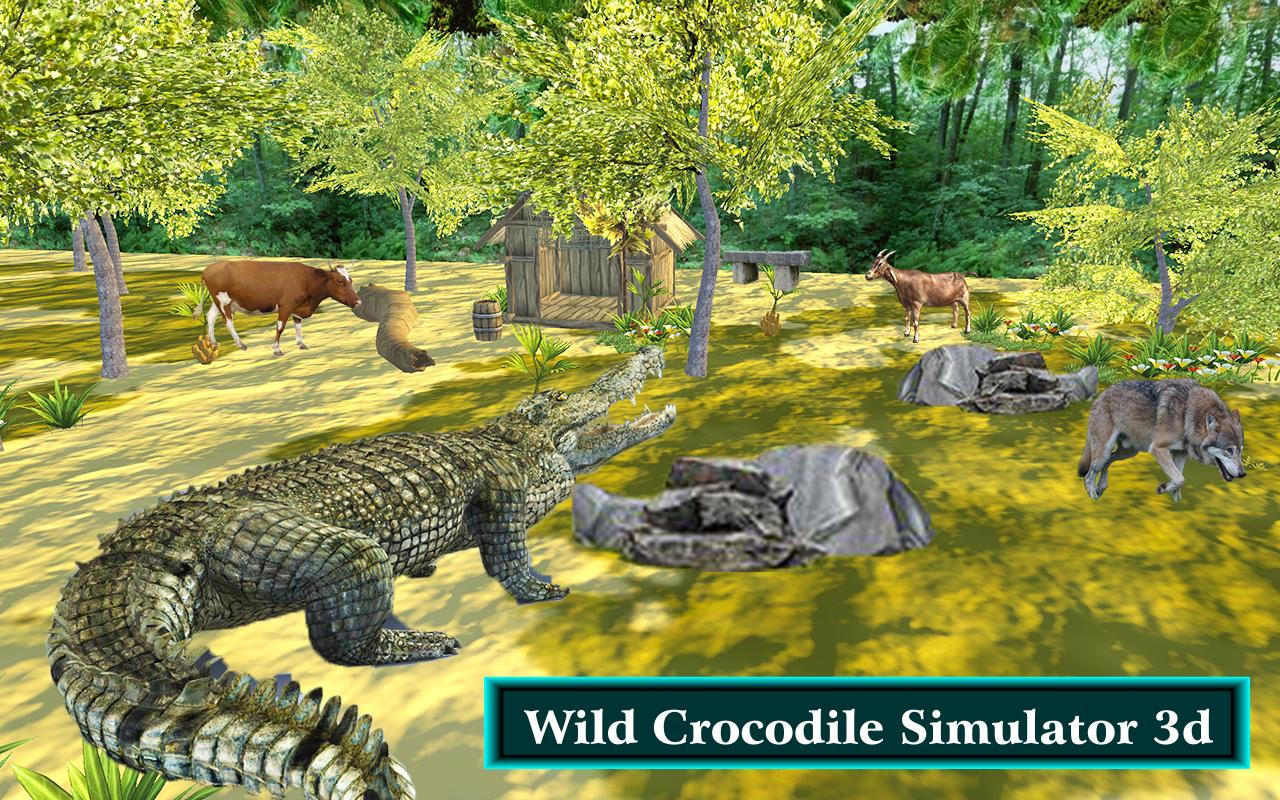 Hungry Crocodile Simulator Attack