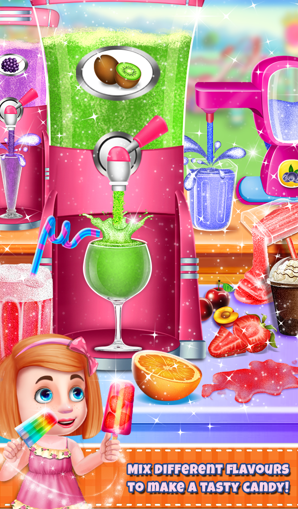 Ice Candy Maker Kids Fun
