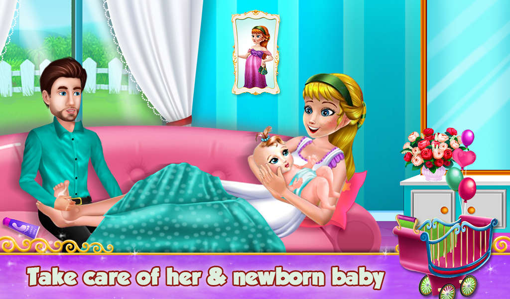 Ice Mommy NewBorn Ava Baby Grown Day Care