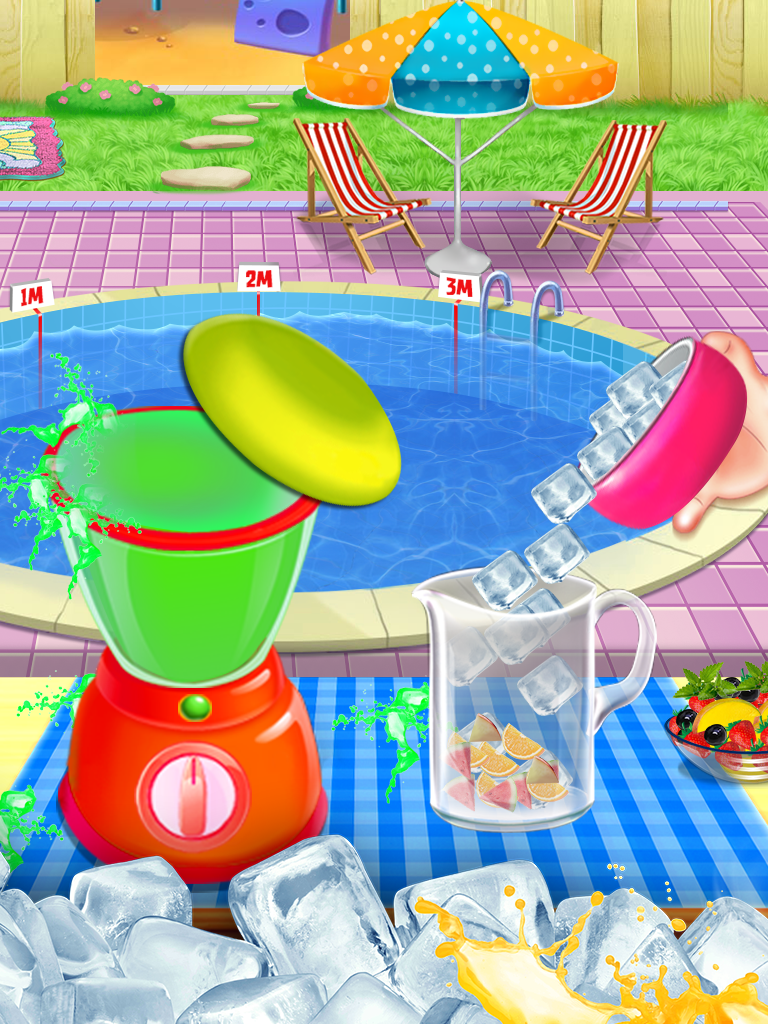 Icy Slushy Maker Cooking Game