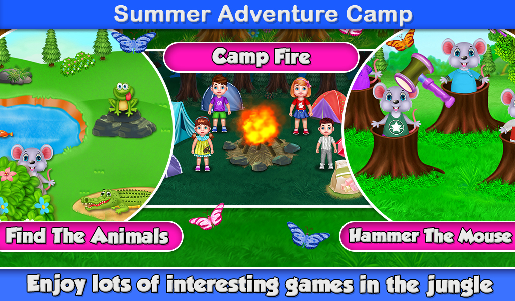 Kids Summer Vacation Time - Holiday Game