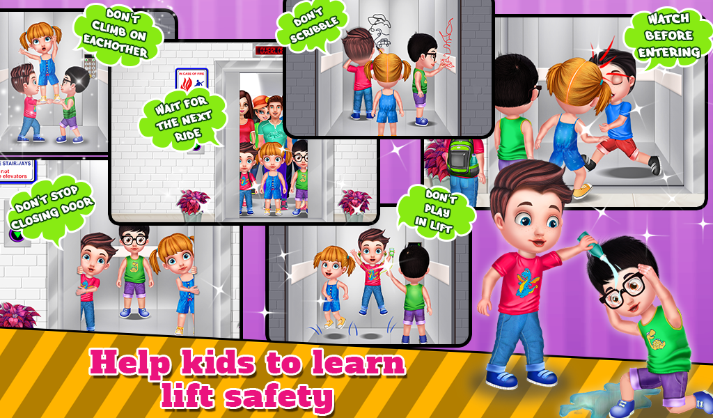 Lift Safety For Kids