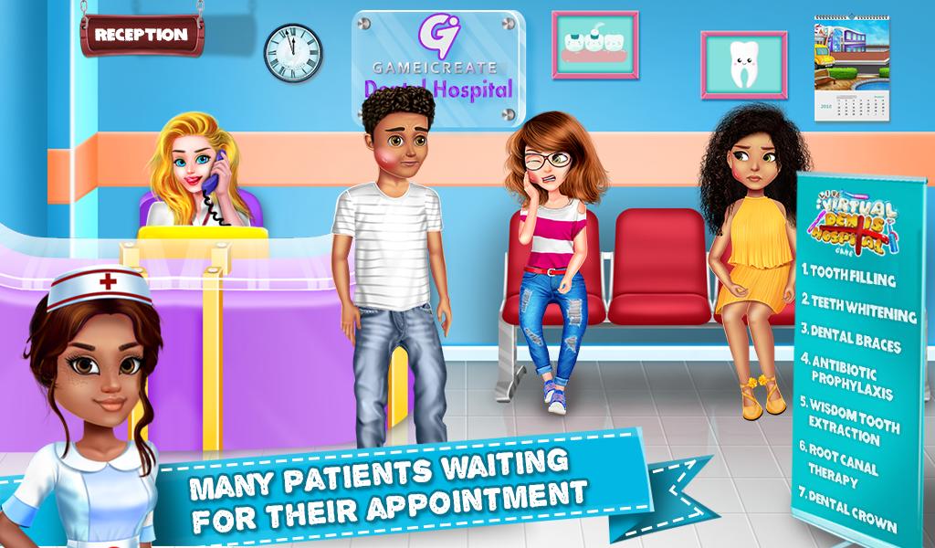 Live Virtual Dentist Hospital- Dental Surgery Game