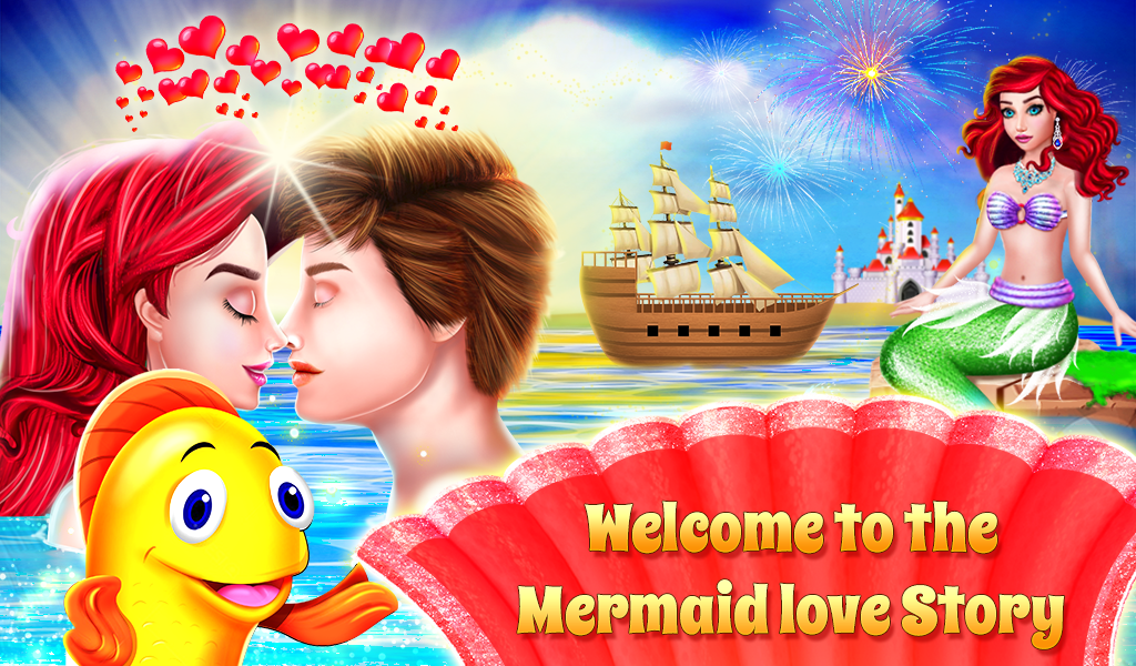 Mermaid & Prince Love Story