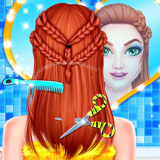 Princess Valentine Dream Hair Saloon Barber Salon