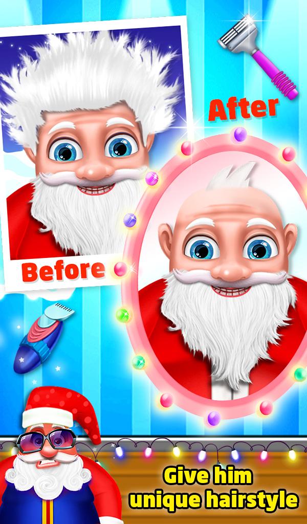 Santa Beard Salon