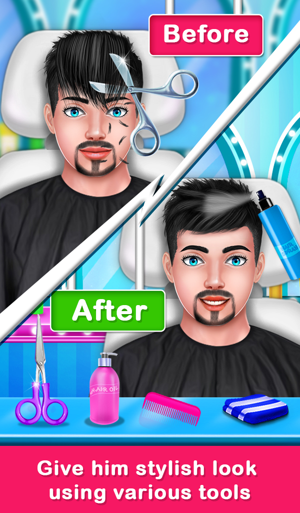Shave Prince Beard Hair Salon - Barber Shop Game