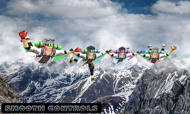 Sky Diving Championship: Air Stunts Simulator