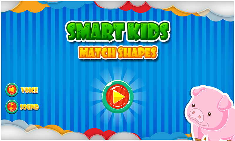 Smart Kids - Match Shapes