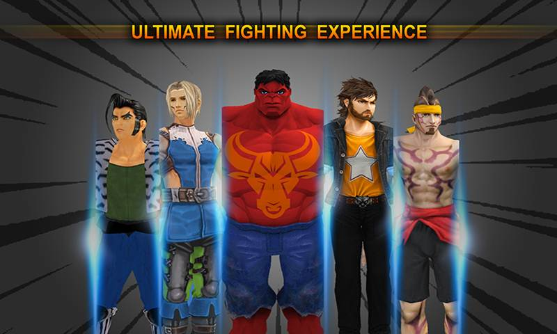 Super Street Fighters Action 3D