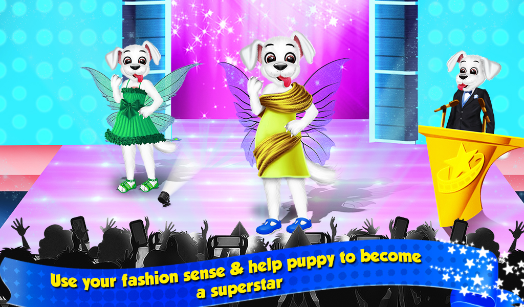 Superstar Puppy Fashion Award Party