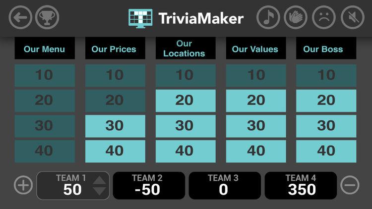 TriviaMaker