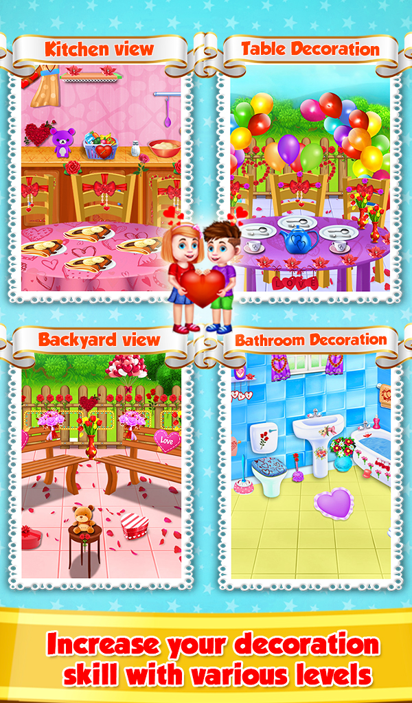 Valentine Room Decoration