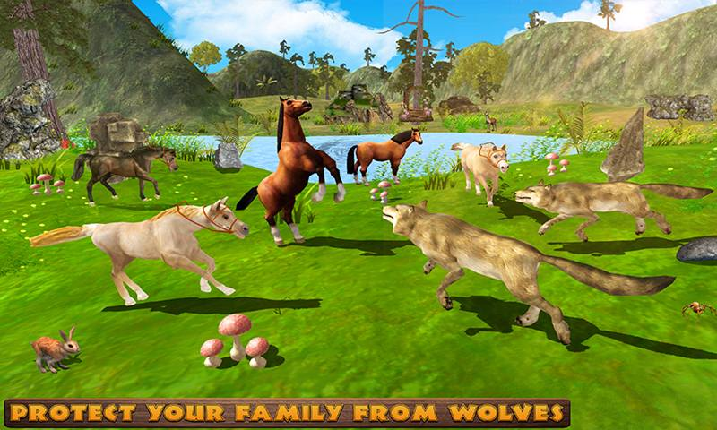 Virtual Horse Family Jungle Life Simulator
